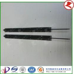 铂金钛电极异型件钛阳极